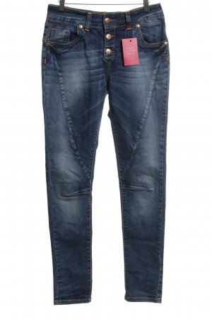 Blue Monkey Slim Jeans dunkelblau Jeans-Optik