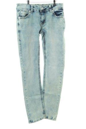 Blue Monkey Slim Jeans blau Casual-Look