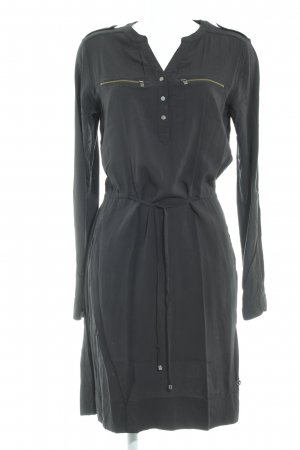 Blue Motion A Line Dress black casual look