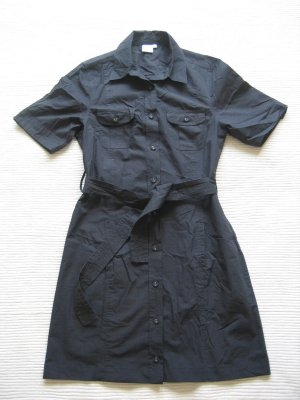 Blue Motion Blouse Dress dark blue