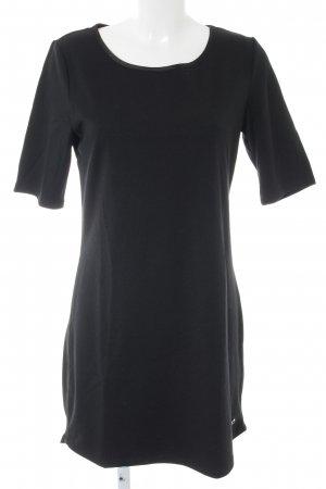Blue Motion Shortsleeve Dress black casual look