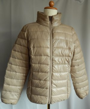 Blue Motion Quilted Jacket sand brown mixture fibre