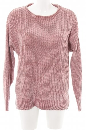 Blue Motion Crewneck Sweater pink casual look
