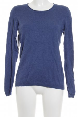 Blue Motion Rundhalspullover stahlblau Casual-Look