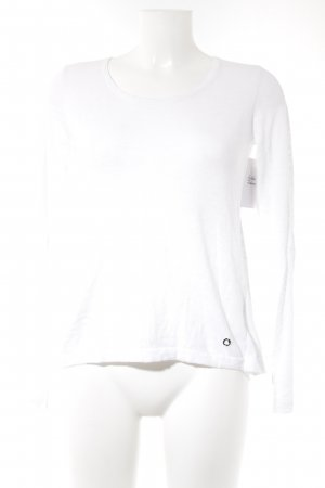 Blue Motion Crewneck Sweater white casual look