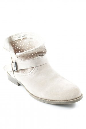 Blue Motion Slip-on Booties cream Buckle elements