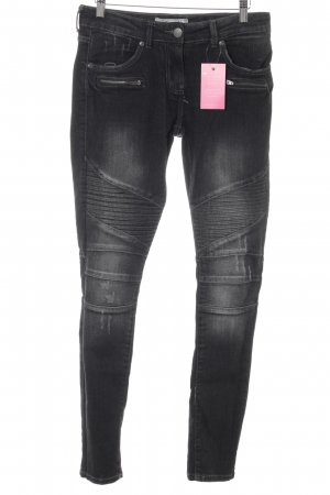 Blue Motion Skinny Jeans black casual look