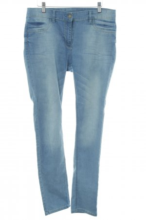 Blue Motion Skinny Jeans stahlblau Washed-Optik