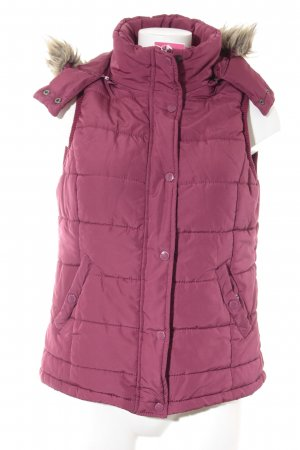 Blue Motion Quilted Gilet magenta casual look