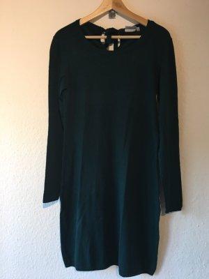 Blue Motion Gebreide jurk donkergroen