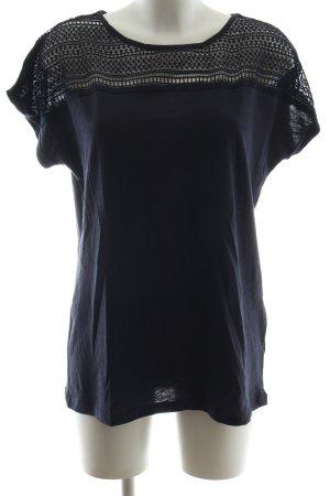 Blue Motion T-Shirt schwarz Casual-Look