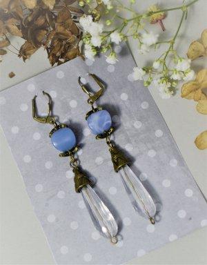 Blue Ohrhanger Vintage Ohrringe