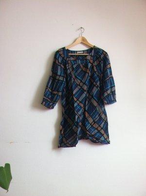 Blue Patter Cotton Shirt