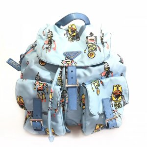 Blue Prada Backpack