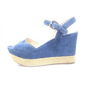Blue Prada Sandal