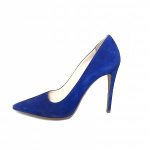 Blue Prada Stiletto