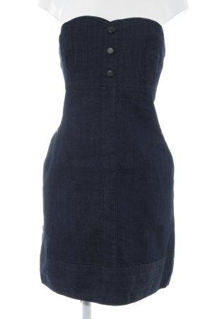 Blue Ridge Denim Bandeau Dress dark blue casual look