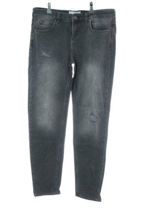Blue Ridge Denim Boyfriend Jeans light grey casual look