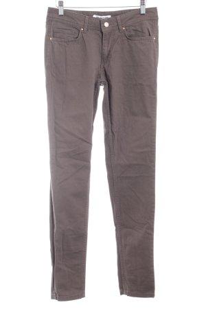 Blue Ridge Denim Drainpipe Trousers dark green casual look