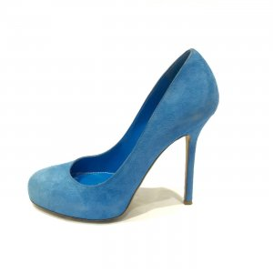 Blue Sergio Rossi High Heel