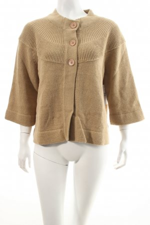 Blue seven Strick Cardigan beige Kuschel-Optik