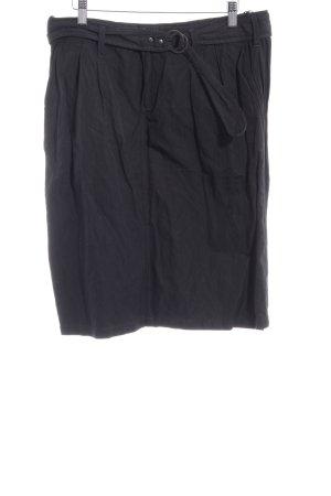 Blue Strenesse Kokerrok zwart casual uitstraling