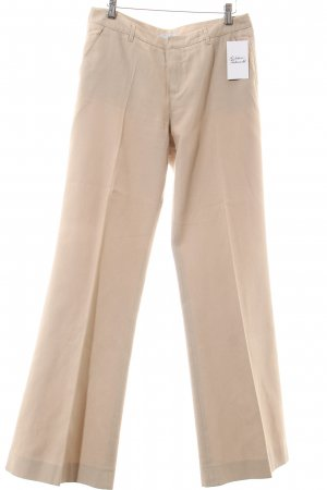 Blue Strenesse Pleated Trousers oatmeal classic style