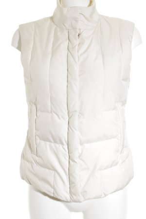 Blue Strenesse Down Vest natural white casual look