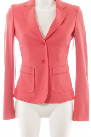 Blue Strenesse Jersey blazer zalm casual uitstraling