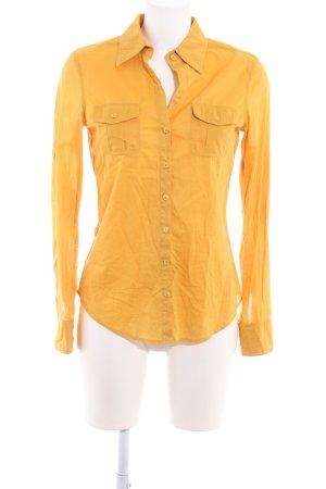 Blue Strenesse Long Sleeve Blouse gold orange casual look