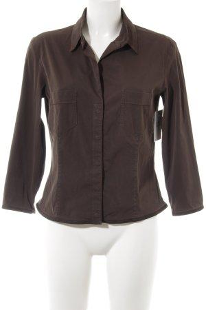 Blue Strenesse Long Sleeve Shirt brown casual look