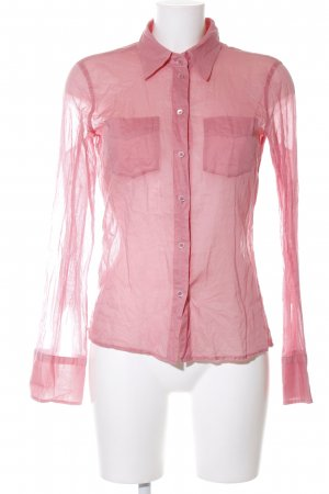 Blue Strenesse Long Sleeve Shirt pink casual look