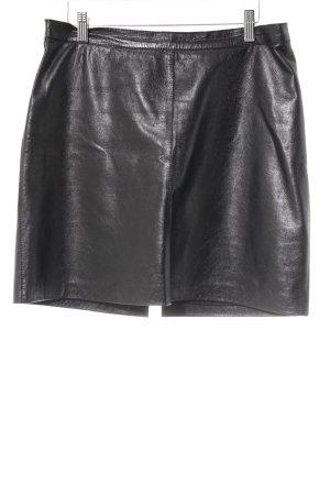 Blue Strenesse Leren rok zwart casual uitstraling
