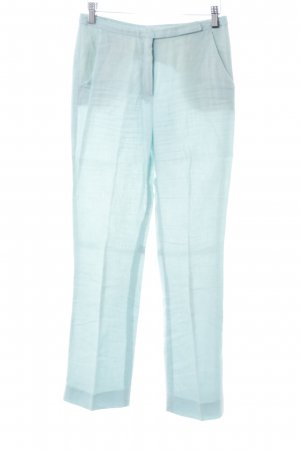 Blue Strenesse Linen Pants mint casual look