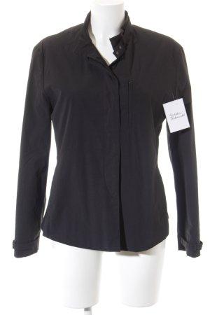 Blue Strenesse Raincoat black athletic style