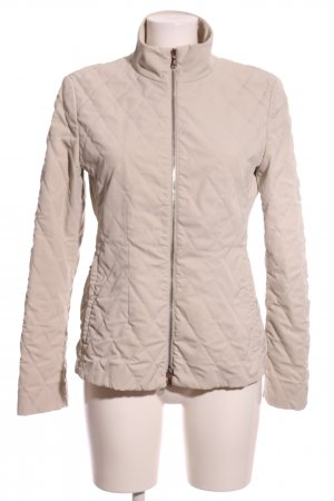Blue Strenesse Quilted Jacket natural white quilting pattern casual look