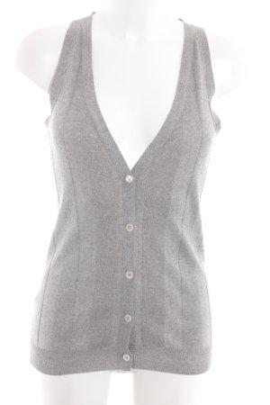 Blue Strenesse Knitted Vest silver-colored elegant
