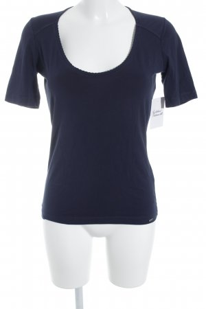 Blue Strenesse T-Shirt dunkelblau Casual-Look