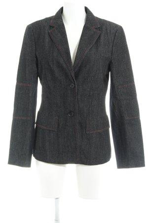 Blue Strenesse Between-Seasons Jacket dark grey casual look