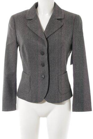 Blue Strenesse Blazer de lana gris-gris claro Patrón de tejido look casual