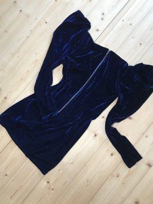 Blue Velvet Dress Asos