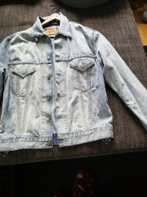 blue washed 501 Levi's jeansjacke