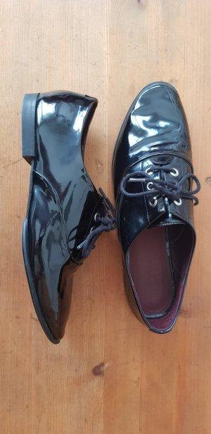 Zara Chaussures à lacets noir