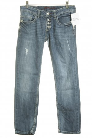 bluefire Slim Jeans blau Casual-Look