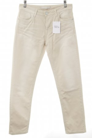 bluefire Slim Jeans creme Casual-Look
