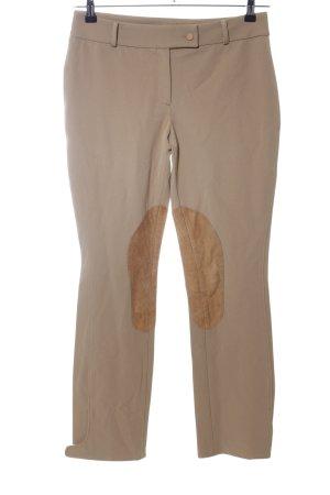 Bluegirl Pantalone da equitazione bianco sporco-color carne stile semplice