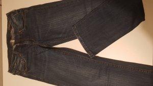 Mango Jeans Vaquero rectos azul oscuro
