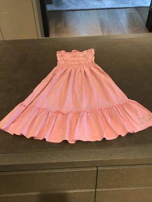 Bluemarine-Blugirl Sommerkleid rose mit Strassaplikation