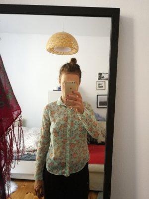 Blümchen Bluse von bershka in Gr 34