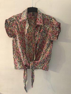 Blümchen Hemd Bluse